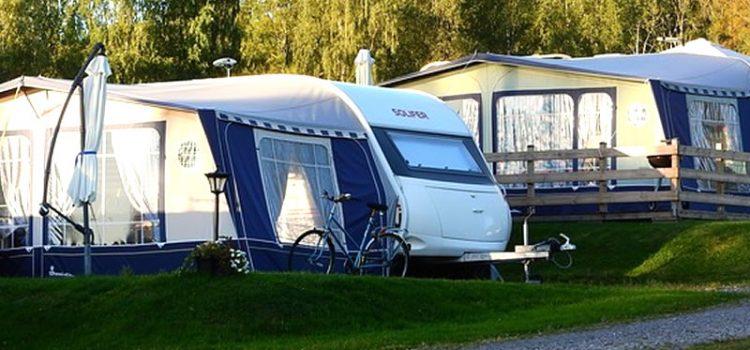 Morning at the caravan park