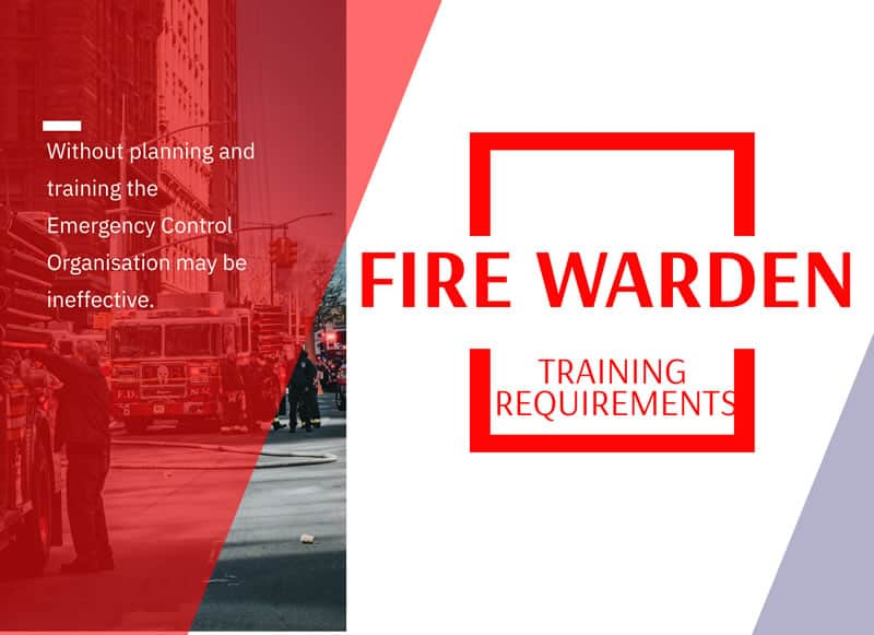 fire warden training requirements banner