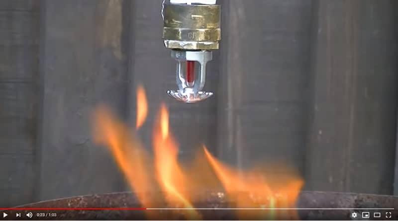 sprinkler test